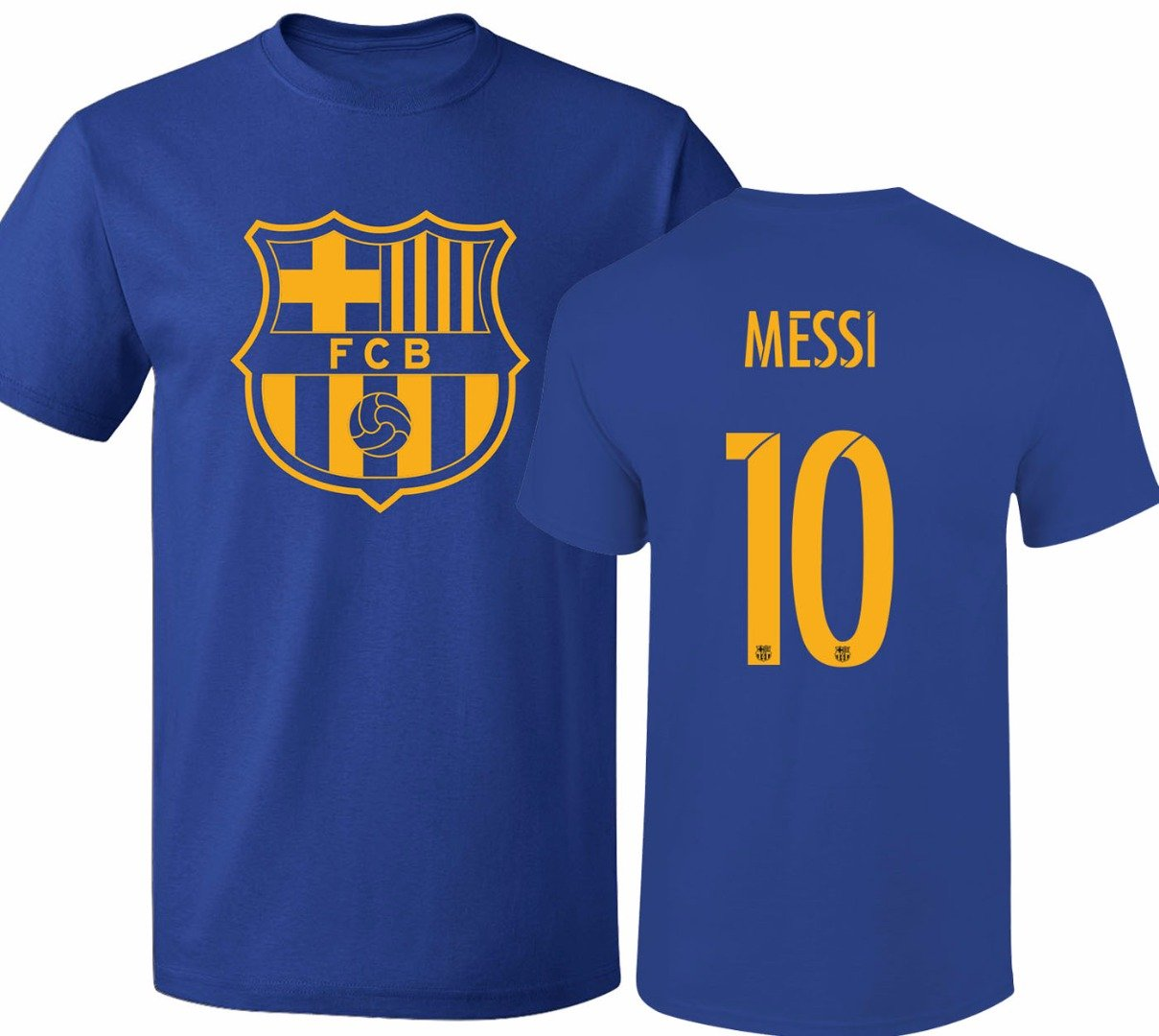 Barcelona Soccer Shirt Lionel Messi #10 Futbol Jersey Youth T-shirt