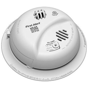 Alarma calor CA con cable 9 V copia de seguridad: Amazon.es: Bricolaje y herramientas