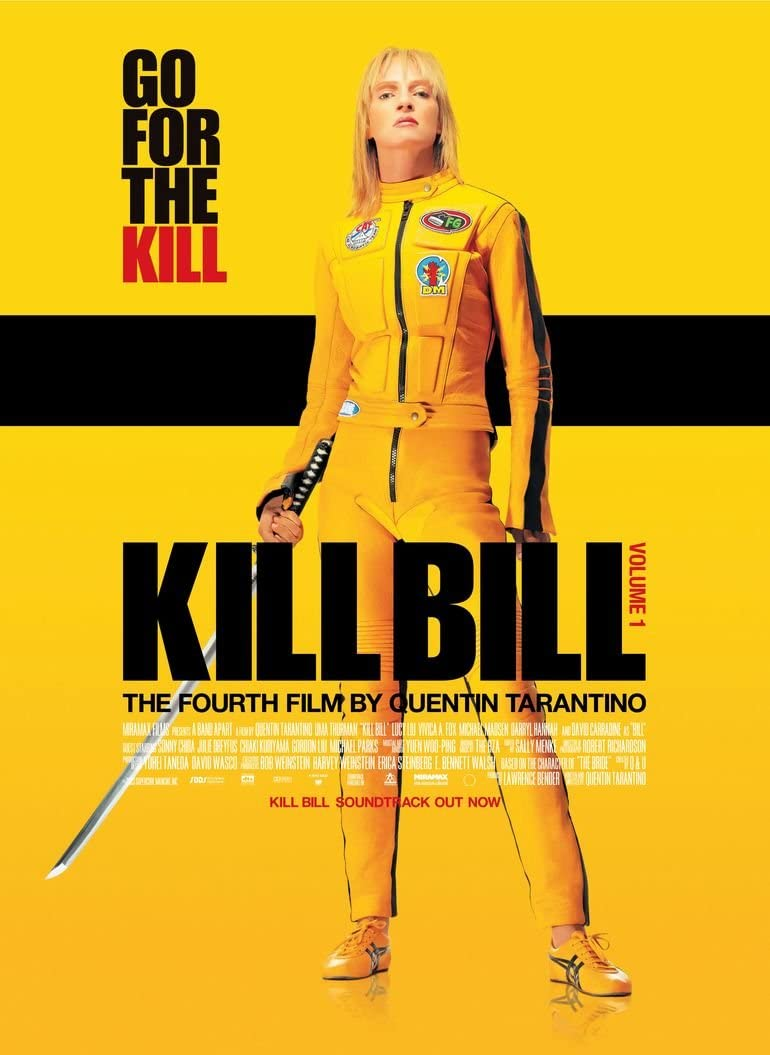 Kill Bill Vol 1 Movie Poster 70 X 45 cm