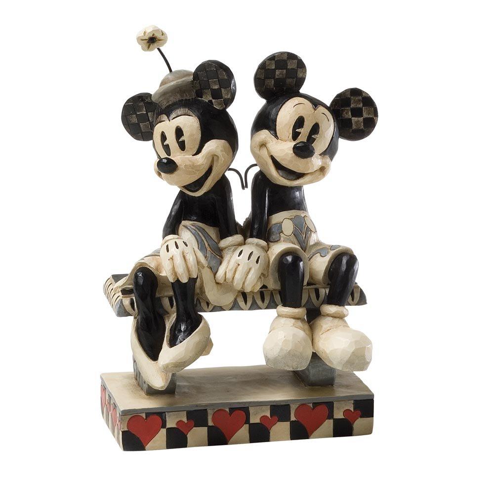 Disney Traditions Enesco Date Night Figurine, Mickey and Minnie ...