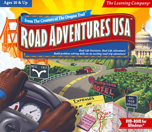Staff Wii - Road Adventures USA Age Rating:10 & Up