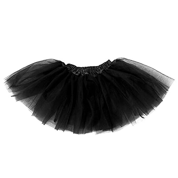 694aa5601 Buenos Ninos Three Layers Organza Baby Girl Tutu skirt Petticoat ...