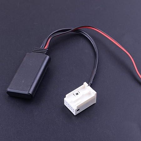 For Benz W169 W245 W203 W209 W164 W221 12V 17.5cm Bluetooth4.0 Adapter AUX Cable