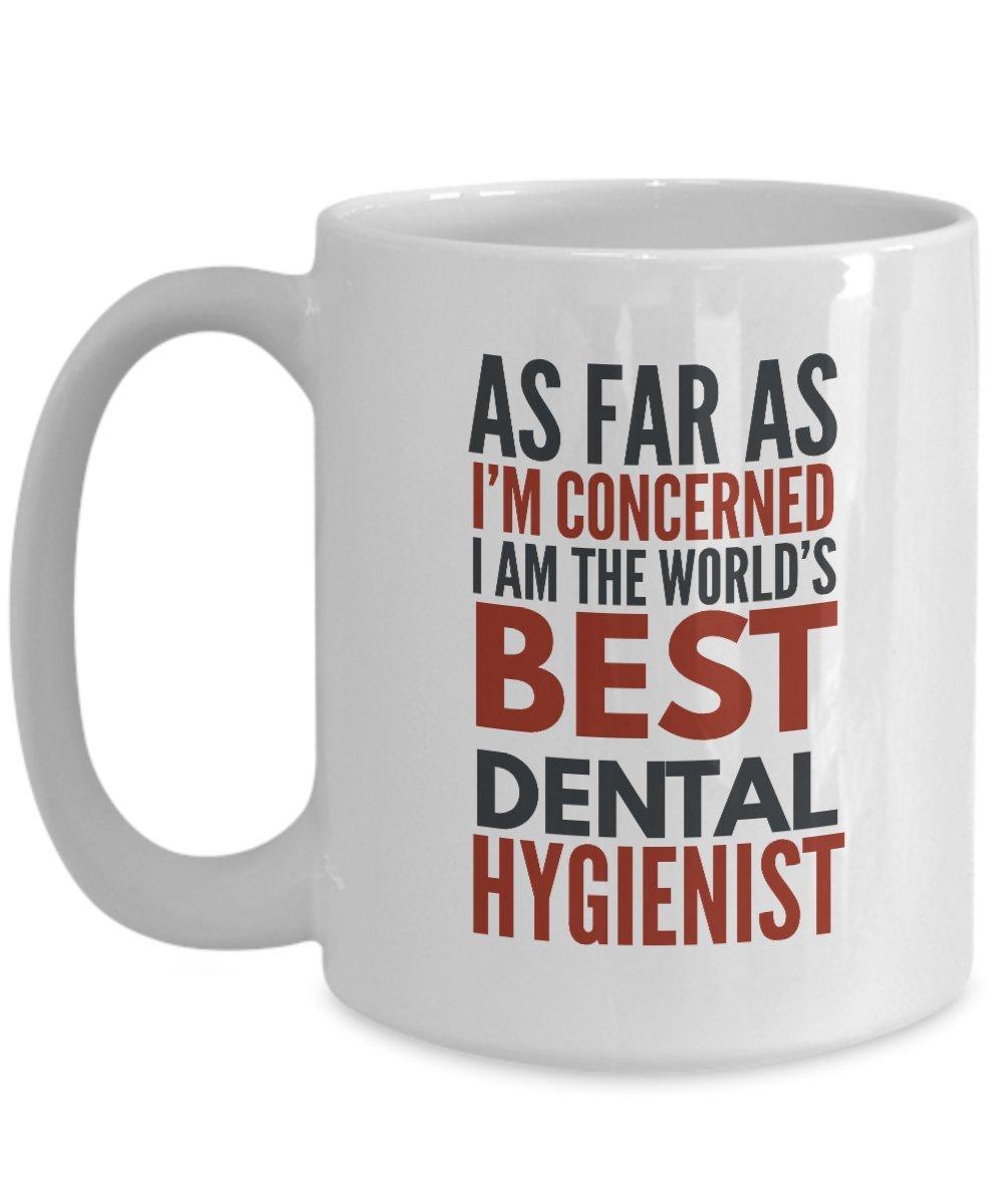 Amazon.com: Dental Hygienist Mug As Far As I\'m Concerned I ...