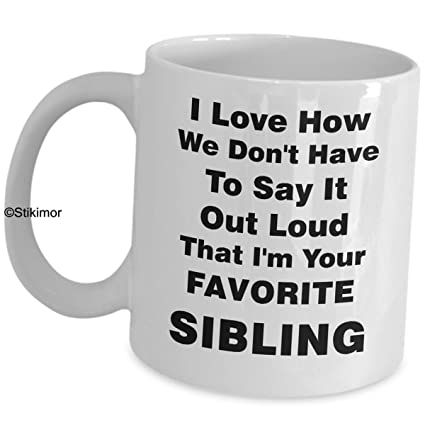 Amazon Siblings Coffee Mug