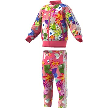 reputable site 2b22c 49b91 adidas Kinder Graphic SST Tracksuit, Children s, CE4350,  Multco Reapnk White,
