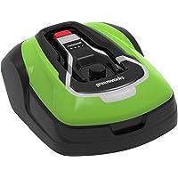 Greenworks Cortacésped - Robot Optimow 10 GRL110 (cortacésped autoprofesional con batería hasta 1000m2 GreenGuide hasta…