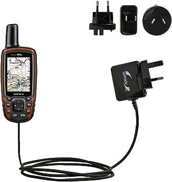 Cargador de pared Global de Corriente Alterna para el Garmin GPSMAP 64/64s/ 64st con tecnología PowerSleep: Amazon.es: Electrónica