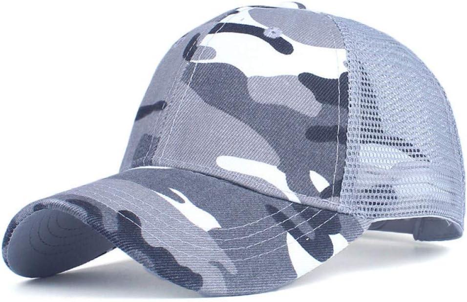 ZSOLOZ Baseball Caps Camouflage Baseball Cap Mesh Cap For Men Women Snapback Hat For Men Bone Gorra Casquette Fashion Hat