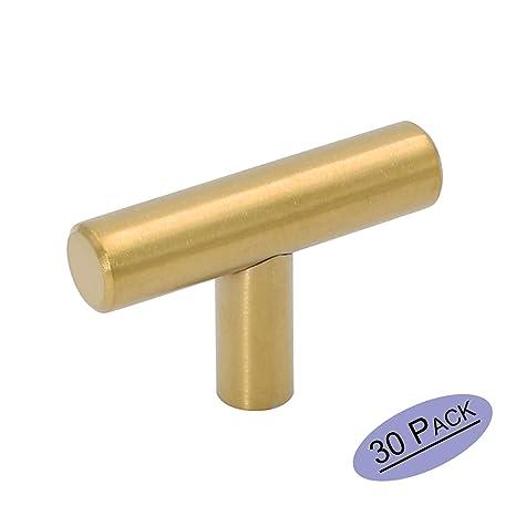 Amazon.com: goldenwarm 30 x acero inoxidable tiradores de ...