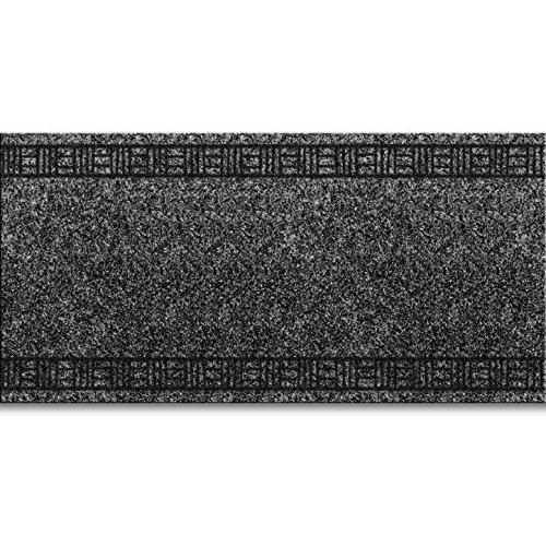 MadeInNature/® Tapis de Passage pour Cuisine 66x350cm, Anthracite entr/ée Couleurs et Dimensions au Choix Couloir Grammage Environ 1150 g par m/²
