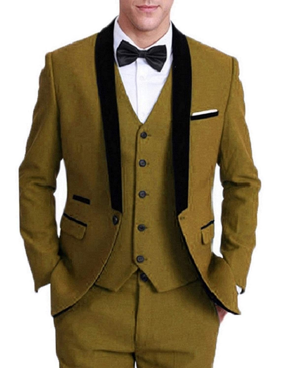Amazon.com: Everbeauty - Trajes formales para hombre para ...