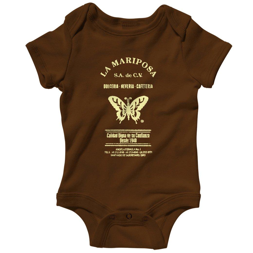 Smash Vintage Baby La Mariposa Creeper Black NB