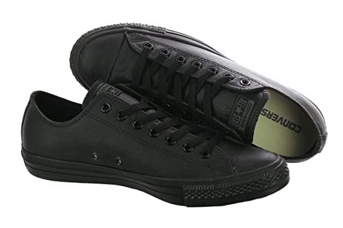e0005da8c2c Converse Chuck Taylor Leather Black Mono Low Top  Amazon.ca  Shoes ...