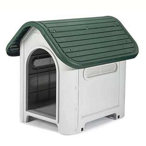 Mascota casa de Perros Cama para Perros de Peluche Perrera pequeña Perrera Interior extraíble Lavable Perrera