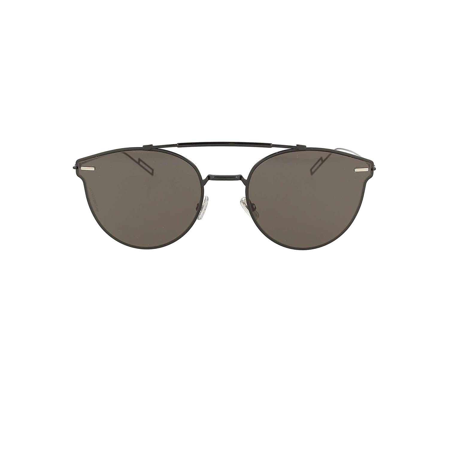 1c1a95805f74 Amazon.com  Dior Homme Pressure 807 Black Pressure Round Sunglasses Lens  Category 3 Size 57  Dior Homme  Clothing