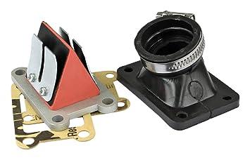 Mvt admisión Complete adaptador Minarelli Am6 Pipe/tapa/manguito cl 10, Dia 26 - 28: Amazon.es: Coche y moto