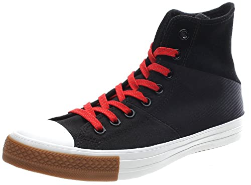 4c2b29fa06da Converse All Star Tri-Panel Hi Shoe - Black Red 144652F (UK8 ...