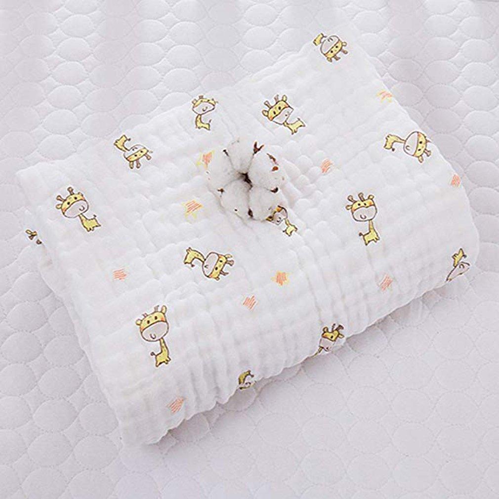 Huayue Toallitas para beb/é Muslin Swaddle Blanket Toalla para reci/én nacido y ba/ño 6 capas Toallitas de algod/ón para mascotas Toalla extra suave Ducha de algod/ón org/ánico para pieles sensibles