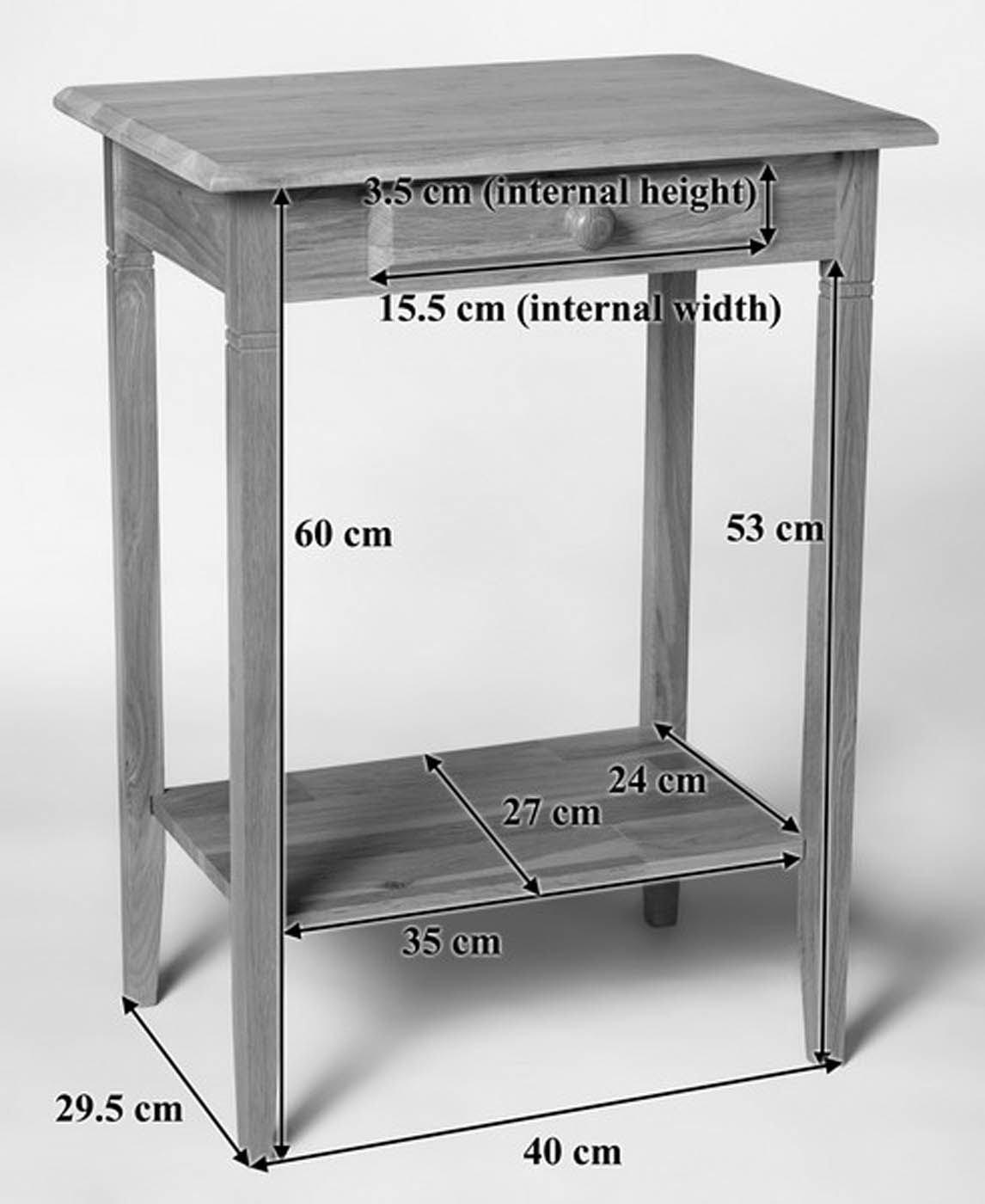 f74945936c2b Waverly Oak Small Console Table