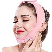 Adelgazante Facial Máscara Vendajes de Cara para Adelgazar Papada Reductor y Antiarrugas cuidado facial piel compacto V-line