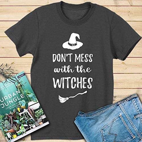Amazing Halloween shirt for women - Don't mess with the witches unisex tee full colors Fast shipping]()