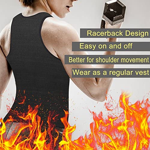 Rolewpy Women Sweat Neoprene Waist Trainer Hot Slimming Sauna Vest Tummy Control Body Shaper for Weight Loss 5