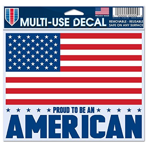 "WinCraft American Flag Decal - 5""x6"" Color"
