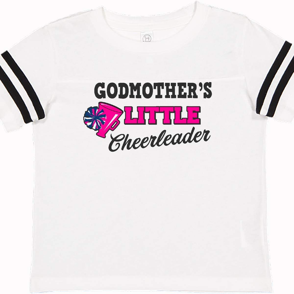 inktastic Godmothers Little Cheerleader with Megaphone and Pom Toddler T-Shirt