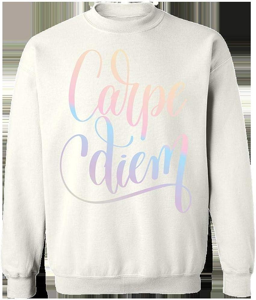 Sweatshirt Carpe Diem Creative Typography Design