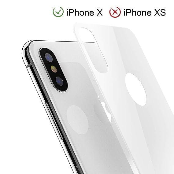 Amazon Com Iphone X Back Screen Protector Kolpop 3d Full Coverage