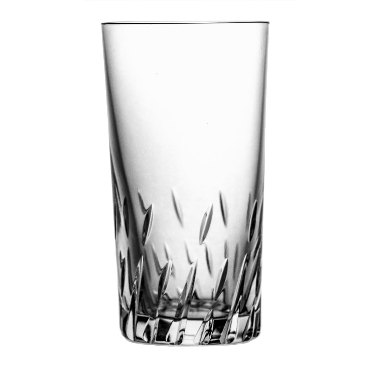 Pack of Aljulia 6071240ml Water Glass, Crystal, 6Units