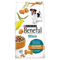 Beneful Alimento para Perro Minis Salmón Razas Pequeñas, Color Blanco, 10 kg
