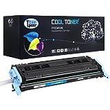 Cool Toner kompatibel Toner fuer Q6001A fuer HP Color LaserJet 2600N 1600 2605N 2605DN 2605DTN, CM1015 MFP CM1017 MFP, Cyan 2.000 Seiten
