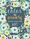 Color The Proverbs: Inspired To Grace: Christian Coloring Books: A Scripture Coloring Book for Adults & Teens (Bible Verse Coloring) (Volume 2)