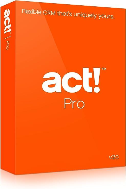Act! Pro v20 (2018) DVD