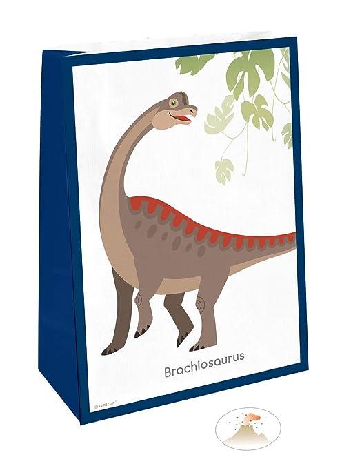 Generique - Genique - 4 Bolsas de Regalo Grandes Dinosaurios ...