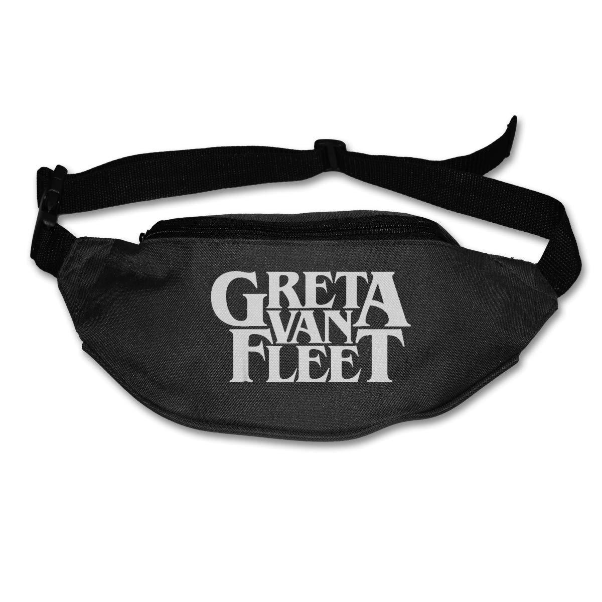 Greta Van Fleet Pack Waist Bag Travel Pocket Sling Chest Shoulder Bag Phone Holder Running Belt With Separate Pockets