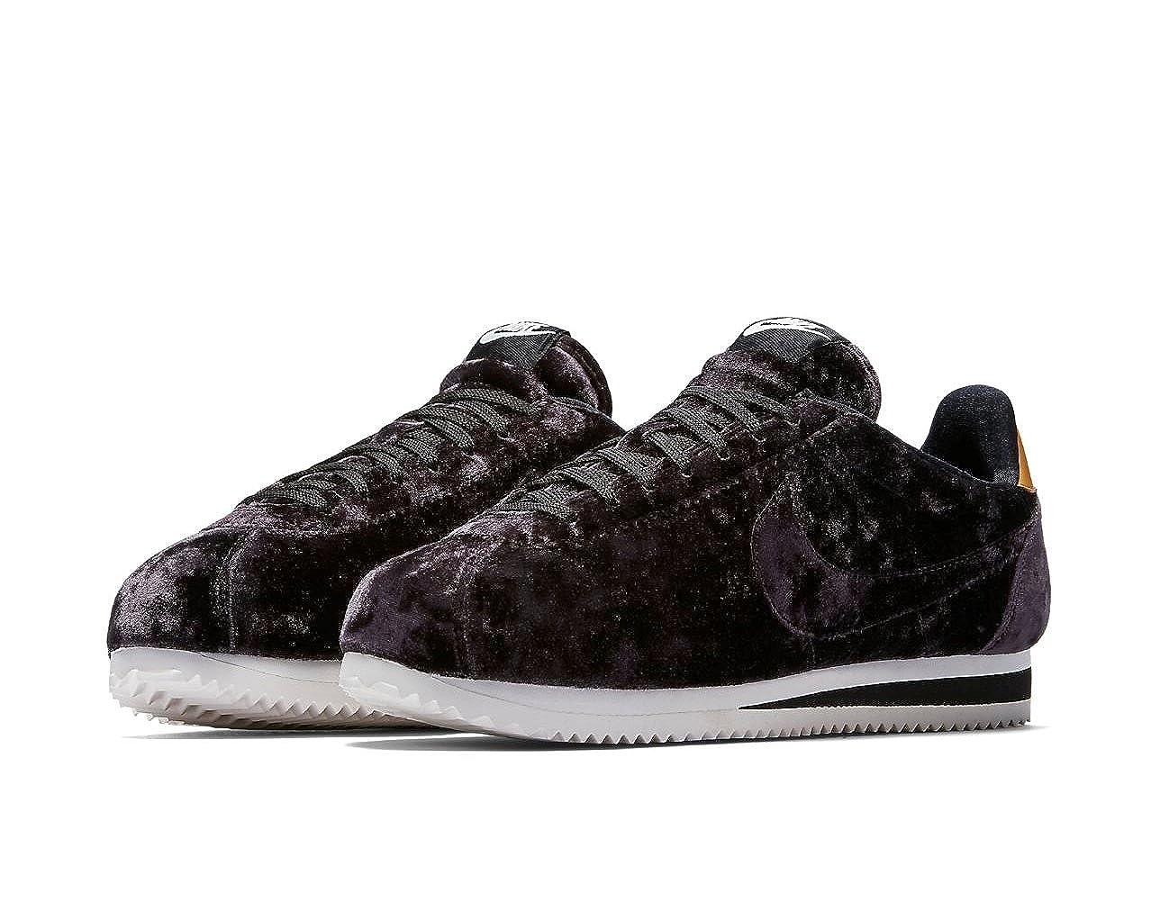 best website ad984 f7b32 Nike - Zapatillas de Terciopelo para Mujer Negro Black/Summit White/Metallic  Gold: Amazon.es: Zapatos y complementos
