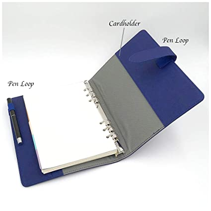 Amazon.com: (E&F) Total 200 hojas – Cuaderno A5/A6 diario ...