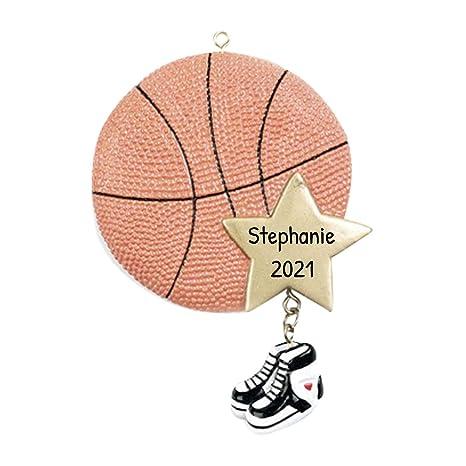 Adornos de Navidad personalizada 2017 baloncesto Star deportes ...