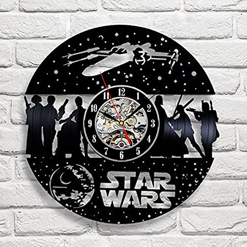 Star Wars Vinyl Record Wall Clock <br> Style 3
