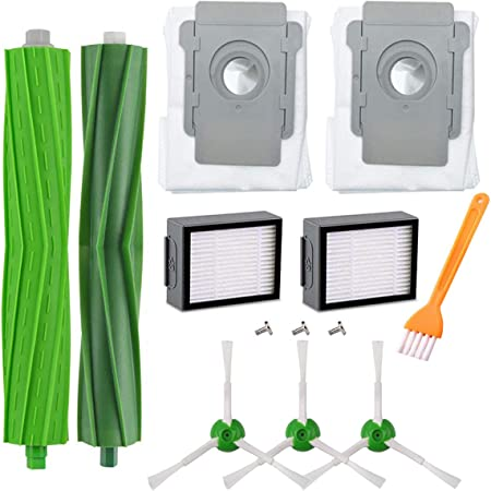 HoHome Kit Cepillos Repuestos para iRobot Roomba Serie i7, Accesorios para iRobot Roomba i7 i7+/i7 Plus E5 E6 E7 Kit 13 Piezas: Amazon.es: Hogar