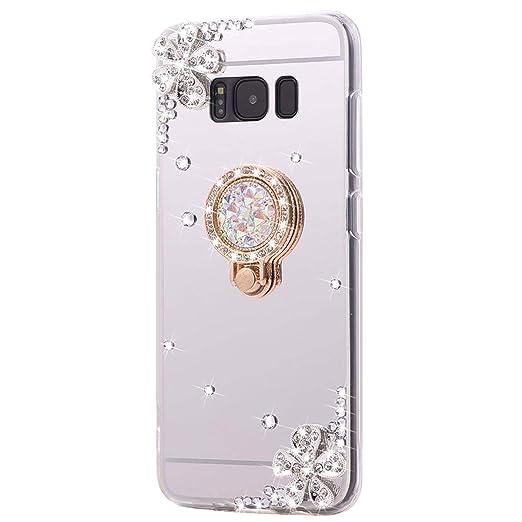 Felfy iPhone 7 carcasa, iPhone 8 Glitter Funda, [carcasa ...