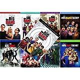 Big Bang Theory - Complete Collection, DVD (Series Seasons 1-9, 1,2,3,4,5,6,7,8,9 Bundle) USA Format Region 1