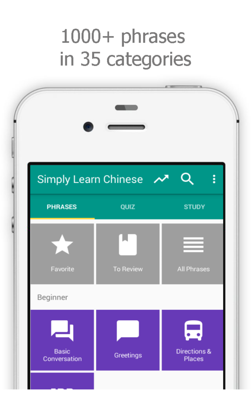 Amazon Simply Learn Chinese Phrasebook Appstore For Android