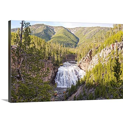Yellowstone National Park Canvas Wall Art Print, 48