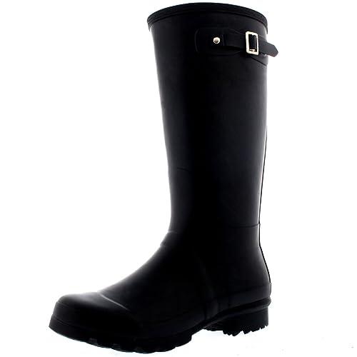 buy online purchase genuine get new Polar Womens Tall Extra Wide Calf Wellington Galosh Muck Gardening  Waterproof Rain Boots