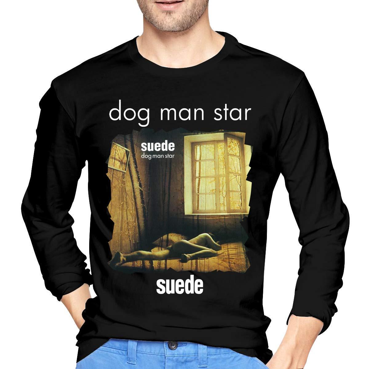 Fssatung S Suede Dog Man Star Tshirt Black