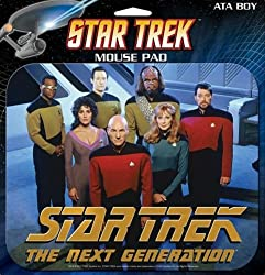Ata-boy Star Trek Next Generation Mouse Pad